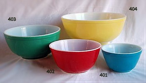 Pyrex Opal Ware Shapes - The Pyrex Collector: Information for The ...